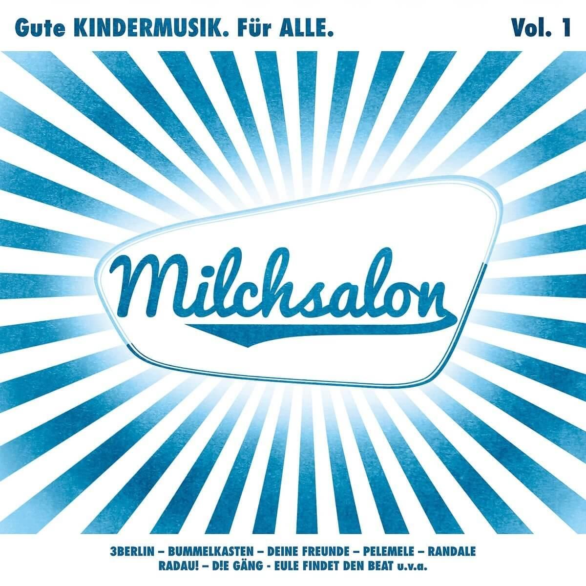 CD Cover Milchsalon Vol.1