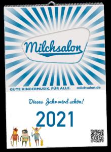 Milchsalon Kalendar 2021 Titelbild