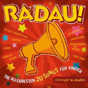 CD Cover Die Allerbesten 20 Songs für Kinder